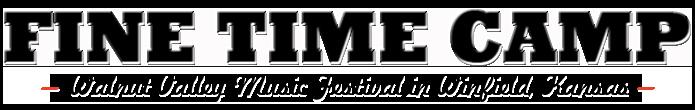 Fine Time Stage - Winfield, KS - Walnut Valley Bluegrass Festival